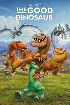 Plakat Dobry dinozaur - Characters