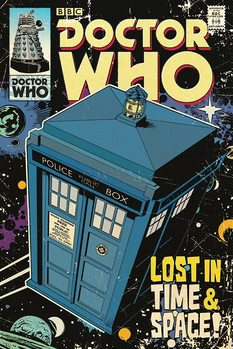 Plakát Doctor Who - Lost in Time & Space