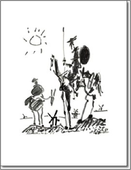 Reprodukcja Don Quichotte