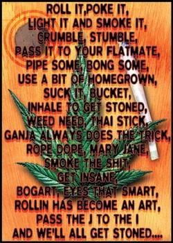 Plakat Dope poem