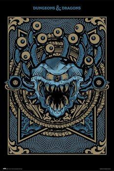 Plakat Dungeons & Dragons - Monster Manual