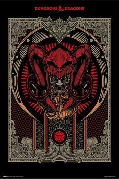 Plakát Dungeons & Dragons - Player's Handbook