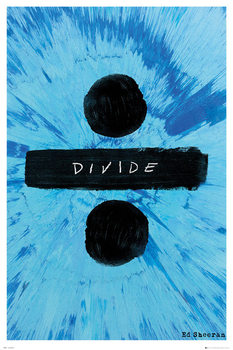 Plakat Ed Sheeran - Divide