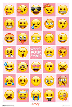 Plakat EMOJI - What's Your Emoji