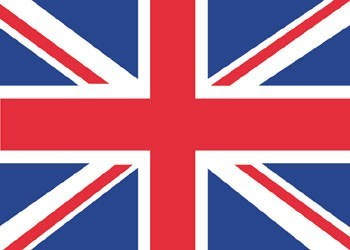 Plakat English national flag - Union Jack
