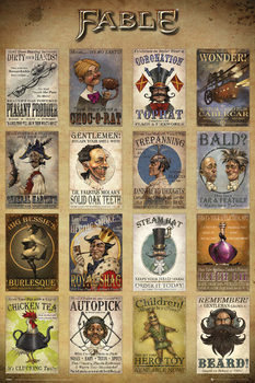 Plakat Fable - Adverts