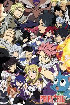 Plakát Fairy Tail - Season 6 Key Art