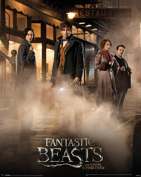 Plakat Fantastyczne zwierzęta i jak je znaleźć - Fantastic Beasts