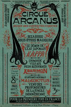 Plakat Fantastyczne zwierzeta: Zbrodnie Grindelwalda - Le Cirque Arcanus