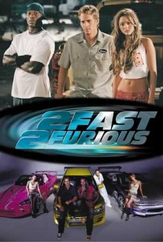 Plakat Fast and Furious 2