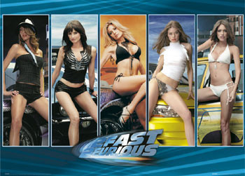 Plakat FAST AND FURIOUS - girls