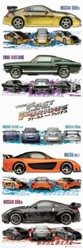 Plakat Fast and Furious Tokyo