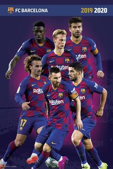 Plakat FC Barcelona 2019/2020