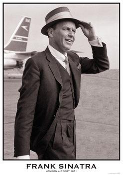 Plakát Frank Sinatra - London Airport 1961