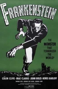 Plakat FRANKENSTEIN