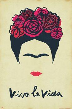 Plakát Frida Kahlo - Viva La Vida