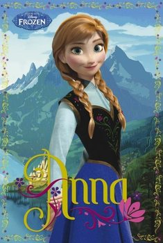 Plakat Frozen - Anna