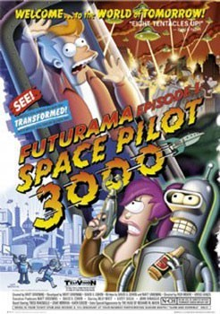 Plakat  FUTURAMA - space pilot 3000