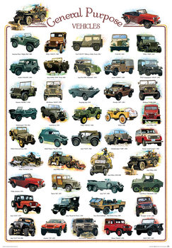 Plakat General purpose vehicles