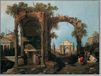 Reprodukcja Gianola - Paesaggio II