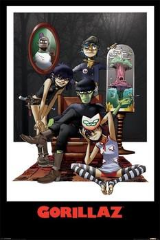 Plakát Gorillaz - family portrait