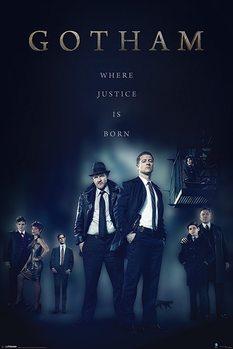 Plakát Gotham - Justice