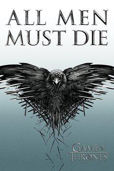 Plakat Gra o tron - Game of Thrones - All Men Must Die