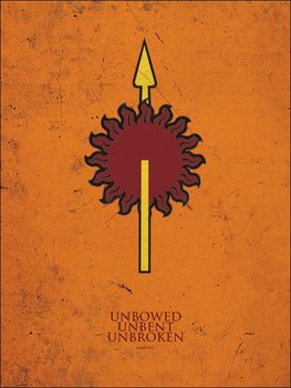 Reprodukcja Gra o tron - Game of Thrones - Martell