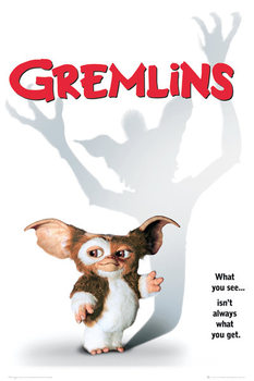 GREMLINS - one sheet plakát, obraz