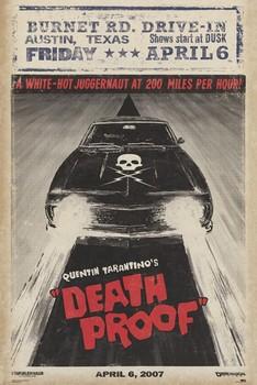 Plakát GRINDHOUSE - car