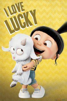 Plakat Gru, Dru i Minionki 3 - I Love Lucky