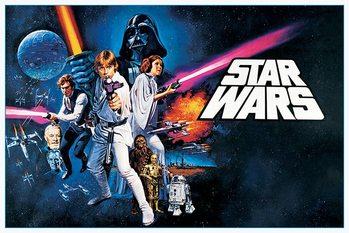 Plakat Gwiezdne wojny - A New Hope