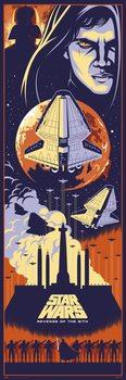 Plakat Gwiezdne wojny: część III - Zemsta Sithów