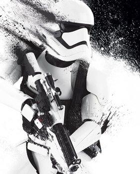 Plakat Gwiezdne wojny, część VII : Przebudzenie Mocy - Stormtrooper Paint