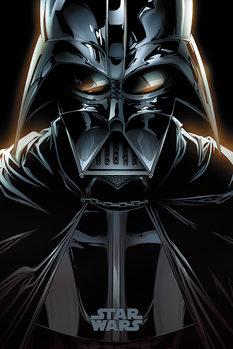Plakat Gwiezdne wojny - Vader Comic