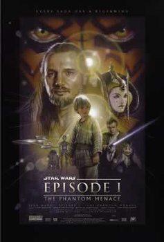 Plakat Gwiezdne wojnyEpisode I - The Phanton Menace