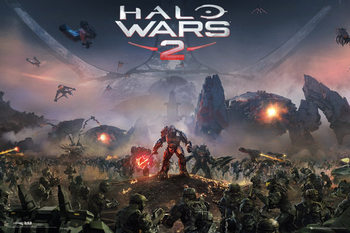Plakát  Halo Wars 2 - Key Art
