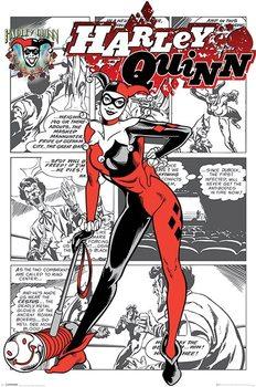 Plakát Harley Quinn - aka Dr. Harleen Francis Quinzel