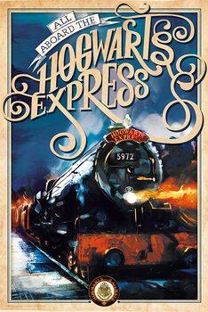 Plakát Harry Potter - Bradavický Express