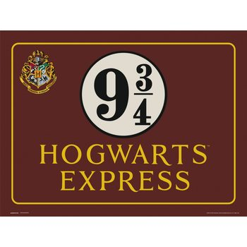 Reprodukcja  Harry Potter - Hogwarts Express