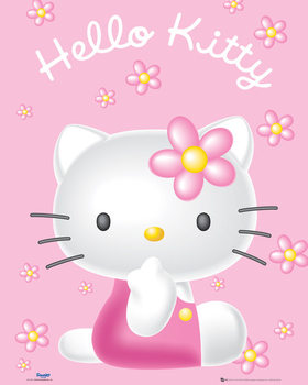 Plakat  Hello Kitty - Pink