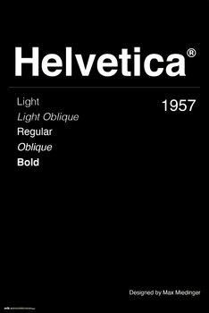 Plakát Helvetica