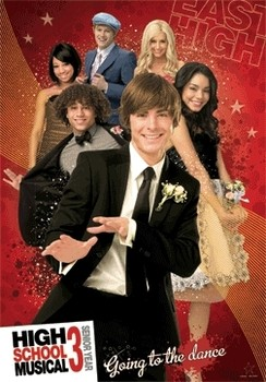 HIGH SCHOOL MUSICAL 3  Plakat 3D Oprawiony
