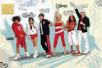 Plakát HIGH SCHOOL MUSICAL - group