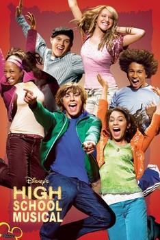 Plakát HIGH SCHOOL MUSICAL - jump