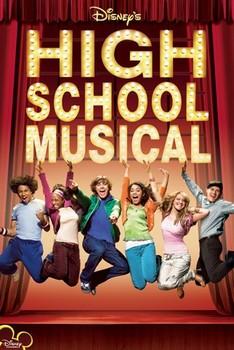 Plakát HIGH SCHOOL MUSICAL - stage