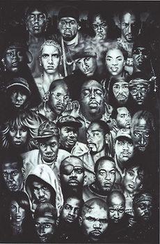 Plakát Hip Hop - Collection