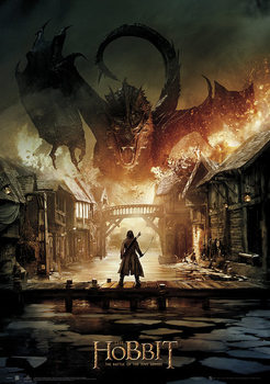 Plakat Hobbit 3: Bitwa Pięciu Armii - Smaug