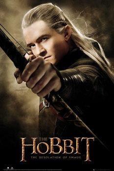 Plakát HOBBIT - desolation of smaug Legolas