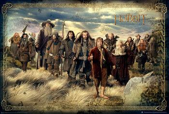 Plakat Hobbit: Niezwykła podróż